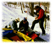 First Aid Exam 1997 at Loon